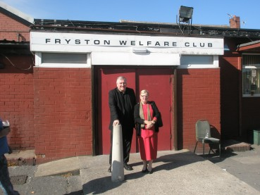 Annd and Professor Dave Waddington – Fryston Yorkshire England –  May 25 2013