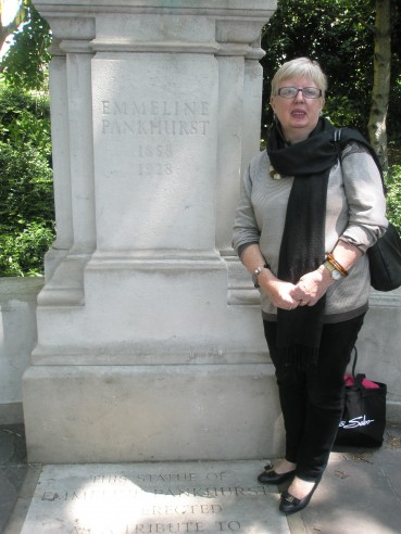 EMMELINE PANKHURST MEMORIAL LONDON – June 5 2013