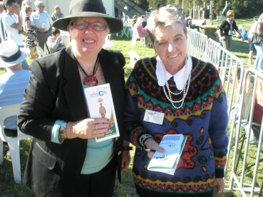 Anne and Christine – TUNCURRY RACES –  April 25 2012