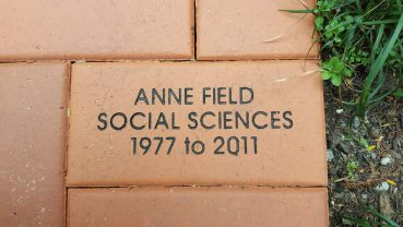 My brick in the Centenary Labyrinth