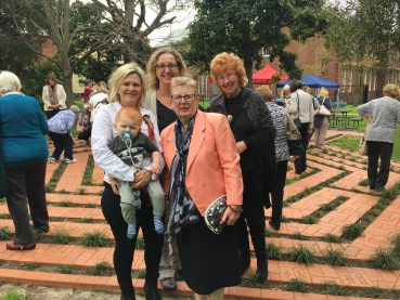 OPENING OF CENTENARY LABYRINTH – SEP 8 2016