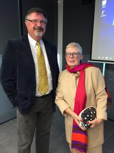 Dr. Wayne Peake and Anne Field – Oct 20 2016