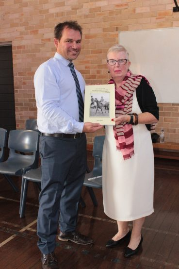 Presentation of my book to Moorefield Girls High School – Feb 9 2017